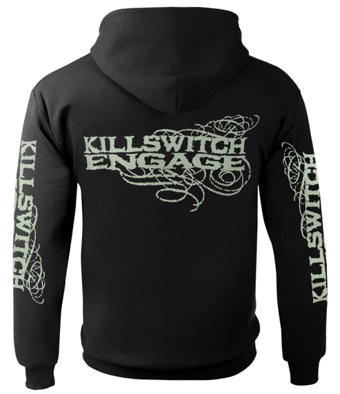 bluza KILLSWITCH ENGAGE - LOGO,rozpinana z kapturem