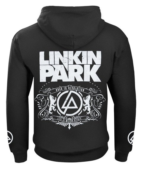 bluza LINKIN PARK - ROAD TO REVOLUTION rozpinana, z kapturem