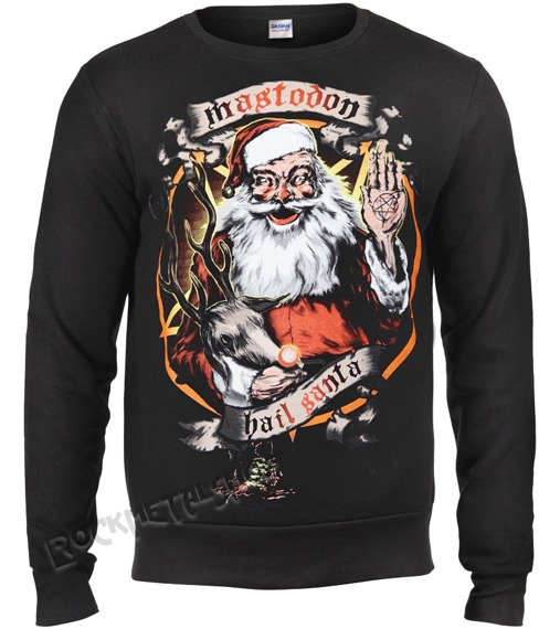 bluza MASTODON -  HAIL SANTA HOLIDAY, bez kaptura