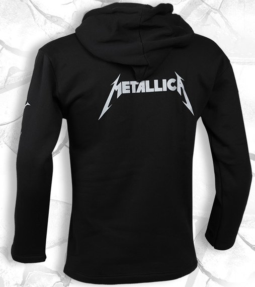 bluza METALLICA - AND JUSTICE FOR ALL czarna, z kapturem