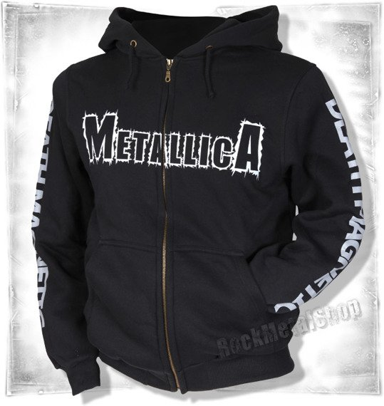 bluza METALLICA - DEATH MAGNETIC rozpinana,z kapturem