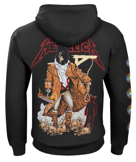 bluza METALLICA - EXECUTIONER (THE UNFORGIVEN) rozpinana, z kapturem