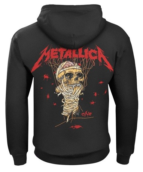 bluza METALLICA - ONE COVER rozpinana, z kapturem