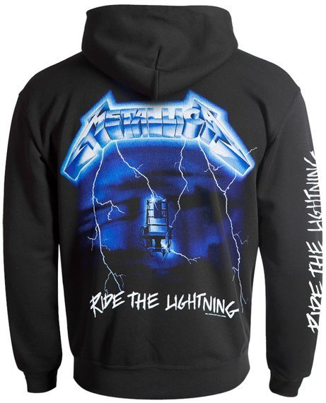 bluza METALLICA - RIDE THE LIGHTENING rozpinana, z kapturem