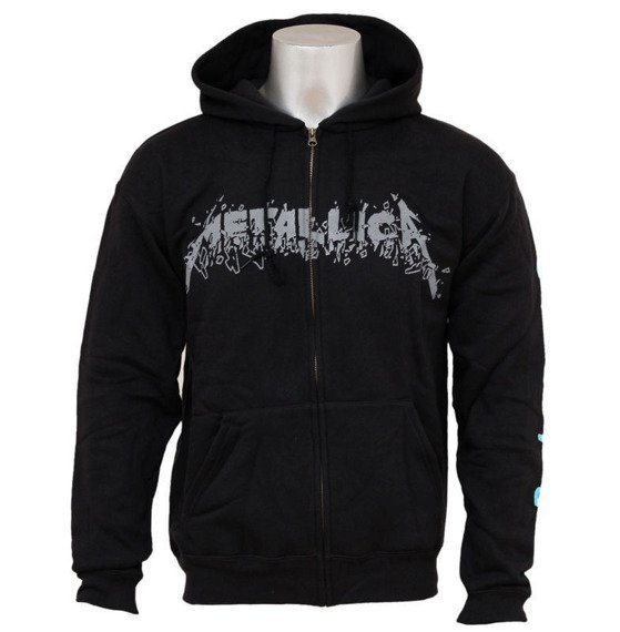 bluza METALLICA - SAD BUT TRUE, rozpinana z kapturem