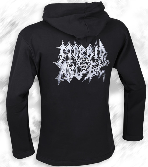 bluza MORBID ANGEL - LEADING THE RATS czarna, z kapturem