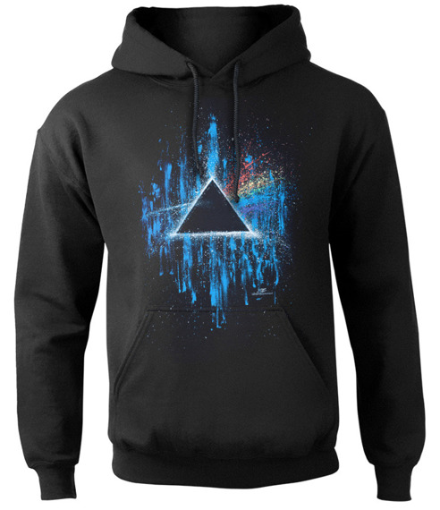 bluza PINK FLOYD - DARK SIDE OF THE MOON, kangurka z kapturem