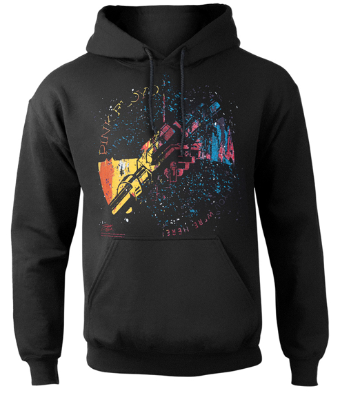 bluza PINK FLOYD - MACHINE GREETING ORANGE, kangurka z kapturem
