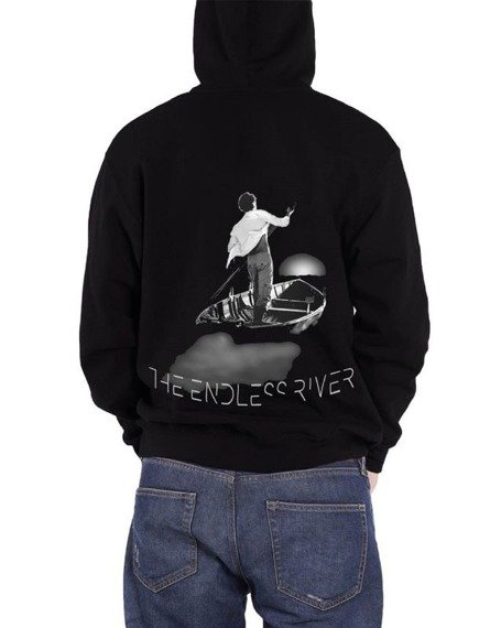 bluza PINK FLOYD - THE ENDLESS RIVER , rozpinana z kapturem
