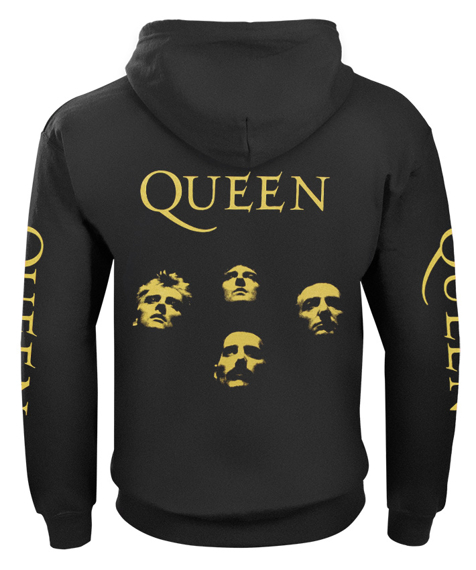 bluza QUEEN GOLD rozpinana, z kapturem