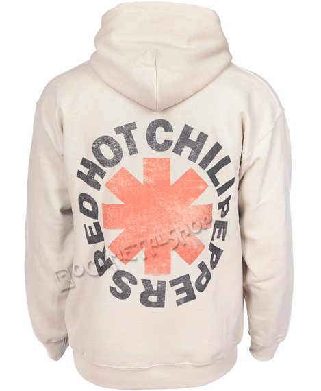 bluza RED HOT CHILI PEPPERS - WASHED OUT ASTERISK, kangurka z kapturem