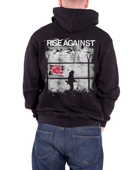 bluza RISE AGAINST - BORDERS, rozpinana z kapturem