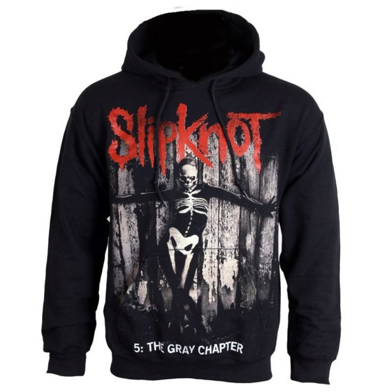 bluza SLIPKNOT - .5: THE GRAY CHAPTER, z kapturem