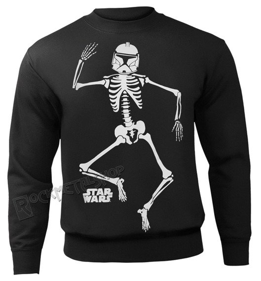 bluza STAR WARS - CLONE SKELETON, bez kaptura