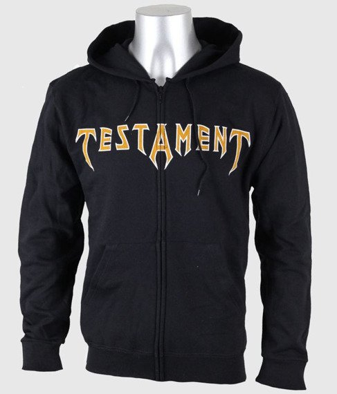 bluza TESTAMENT - DARK ROOTS OF EARTH, rozpinana z kapturem