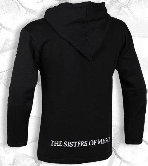 bluza THE SISTERS OF MERCY czarna, z kapturem