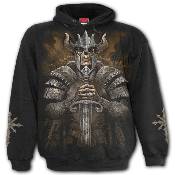 bluza VIKING WARRIOR, kangurka z kapturem
