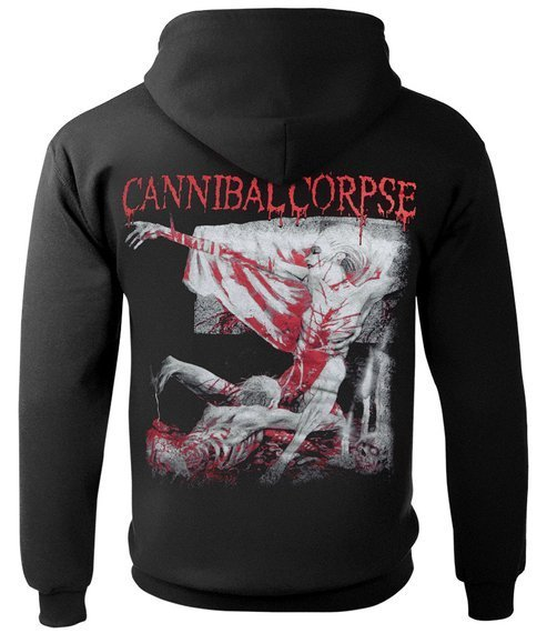 bluza kangurka CANNIBAL CORPSE - TOMB OF THE MUTILATED (EXPLICIT) z kapturem