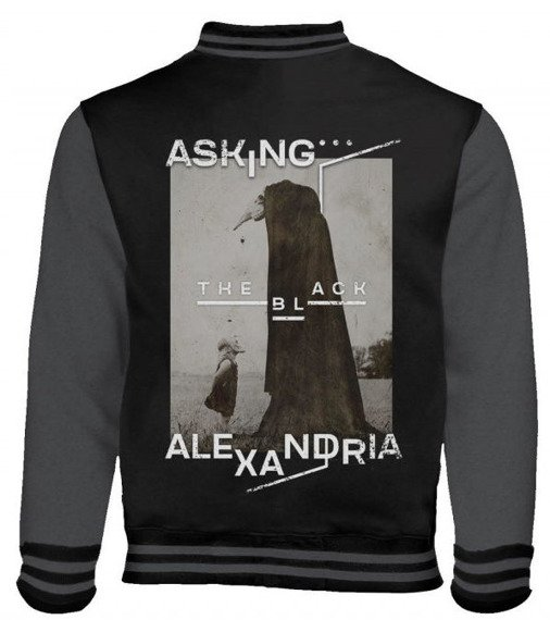 bluza/kurtka ASKING ALEXANDRIA - THE BLACK ORIGINAL ART , rozpinana