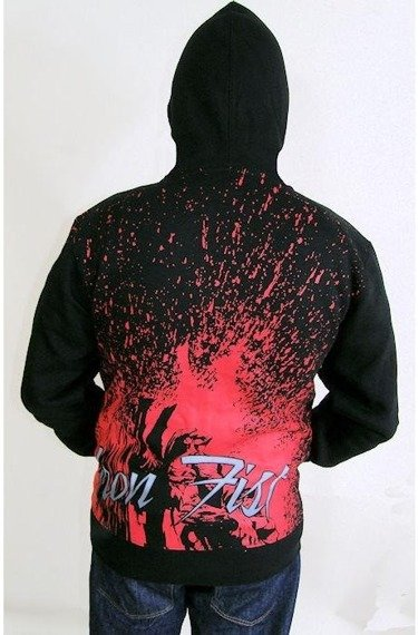 bluza rozpinana IRON FIST - DELIVERANCE (BLACK)