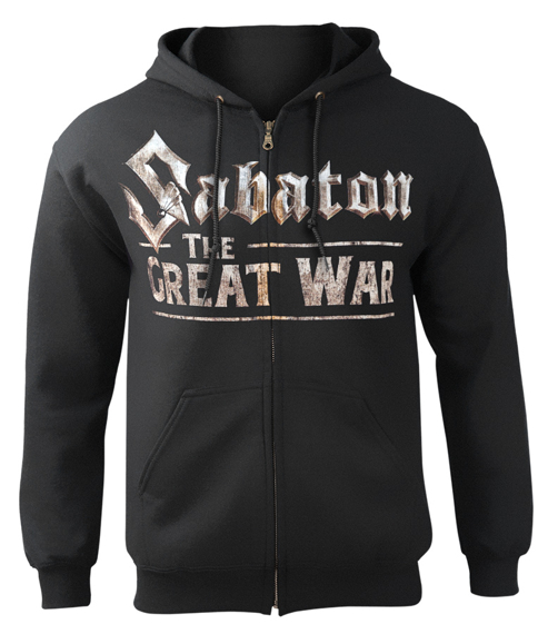 bluza rozpinana SABATON - THE GREAT WAR