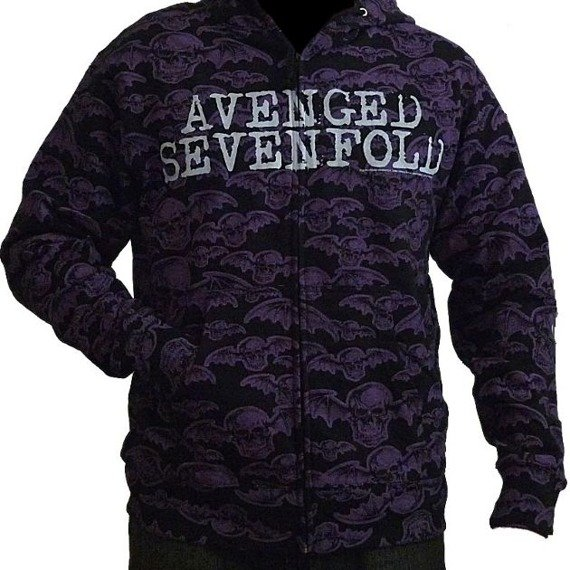 bluza rozpinana z kapturem AVENGED SEVENFOLD - DEATHBAT