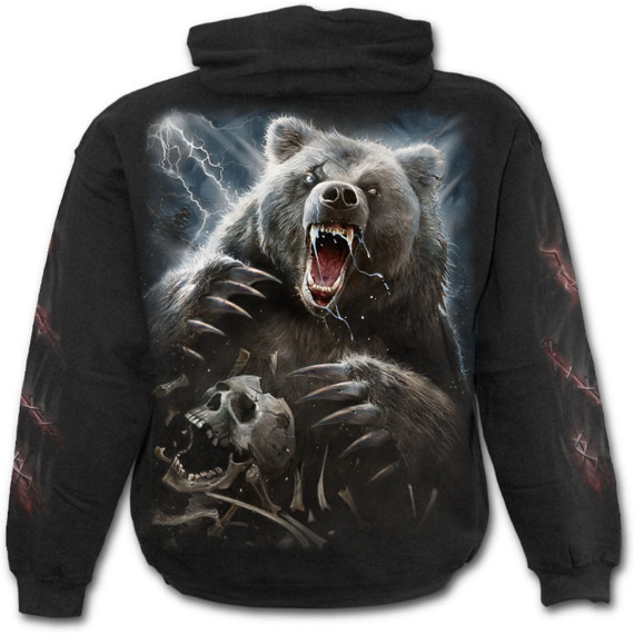 bluza z kapturem BEAR CLAWS