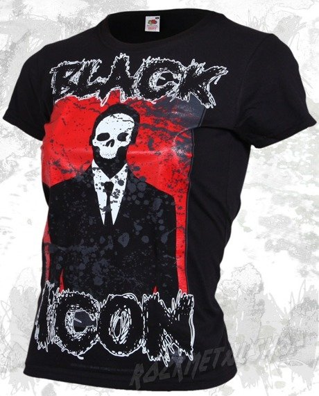 bluzka damska BLACK ICON - MAN (DICON022 BLACK)