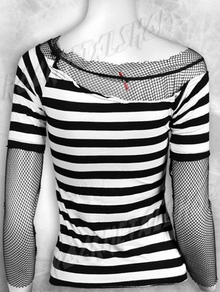bluzka damska BLACK & WHITE STRIPES