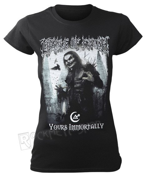 bluzka damska CRADLE OF FILTH - YOURS IMMORTALLY