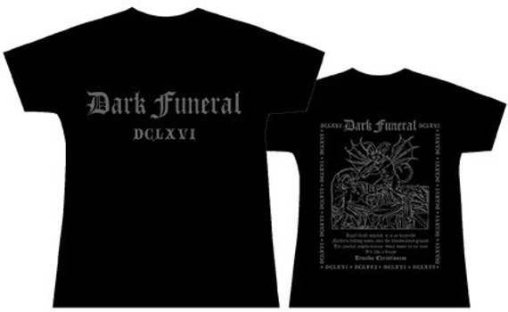 bluzka damska DARK FUNERAL - ANGEL FLESH IMPALED