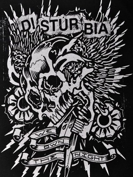 bluzka damska DISTURBIA - WE OWN THE NIGHT