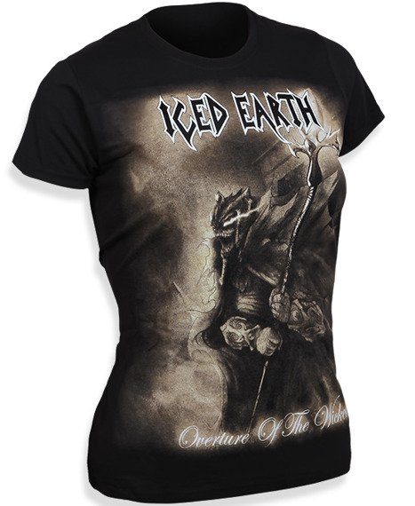 bluzka damska ICED EARTH - OVERTURE OF THE WICKED