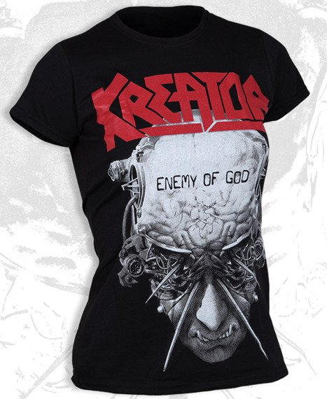 bluzka damska KREATOR - ENEMY OF GOD