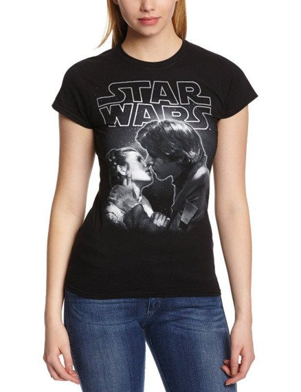 bluzka damska STAR WARS - THE KISS