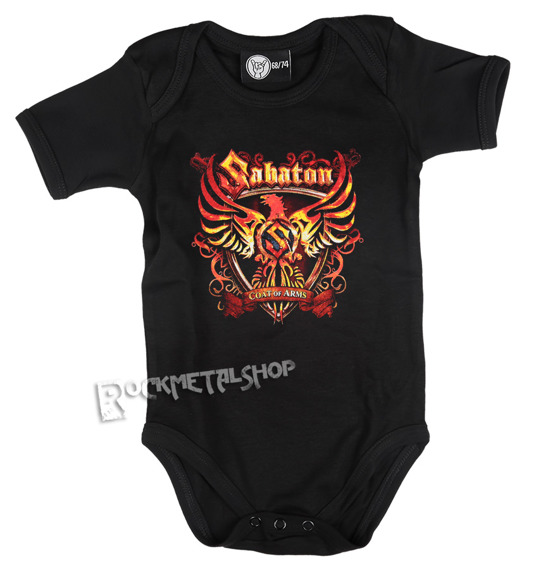 body dziecięce SABATON - COAT OF ARMS black