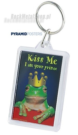 brelok do kluczy KISS ME, I AM YOUR PRINCE (PK1093)