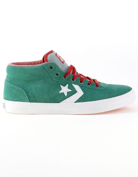 buty CONVERSE - WELLS MID PINE GREEN