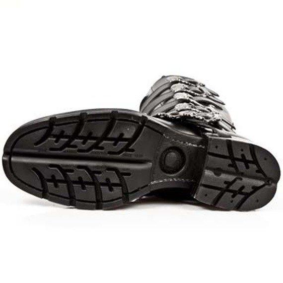buty NEW ROCK TIMBER NEGRO, MOTOROCK NEGRO TACON ACERO [M.MR009-C1]