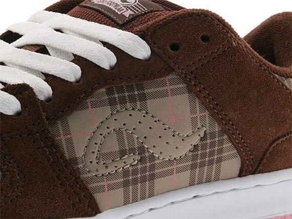buty damskie ADIO (MONROE) (CHOCOLATE/KHAKI/PLAID)