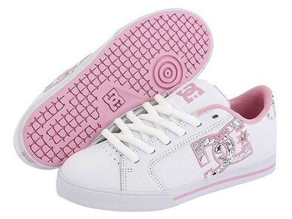 buty damskie DC Journal (WHITE/PINK/WHITE)