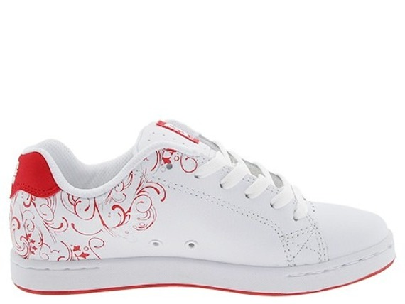 buty damskie DC- PIXIE 3 (White/Athletic Red)