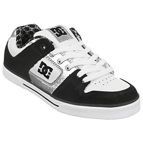 buty damskie DC Pure Women's Skateboard Shoes - Black / White  (300885)
