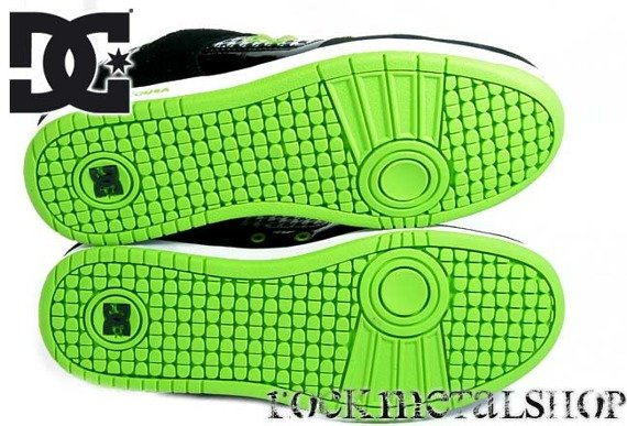 buty damskie DC - W'S MANTECA 2 black/lime green [300684]