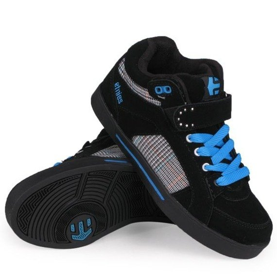 buty damskie ETNIES - LENNY HIGH (BLACK/BLUE)