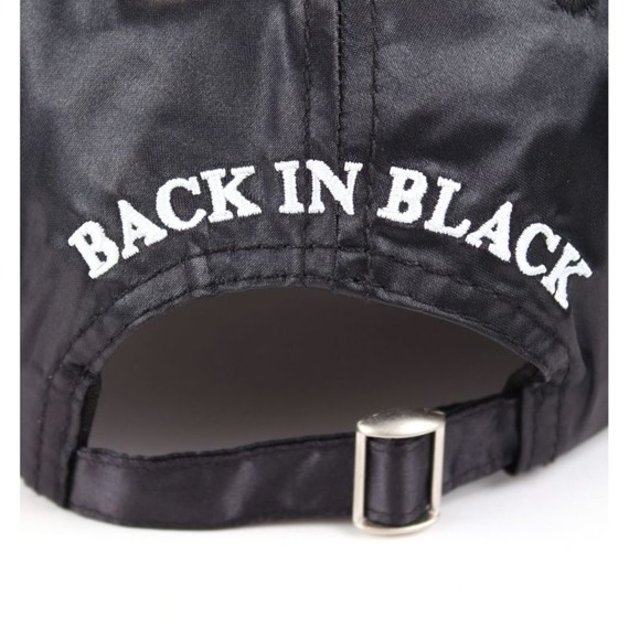 czapka AC/DC - BACK IN BLACK