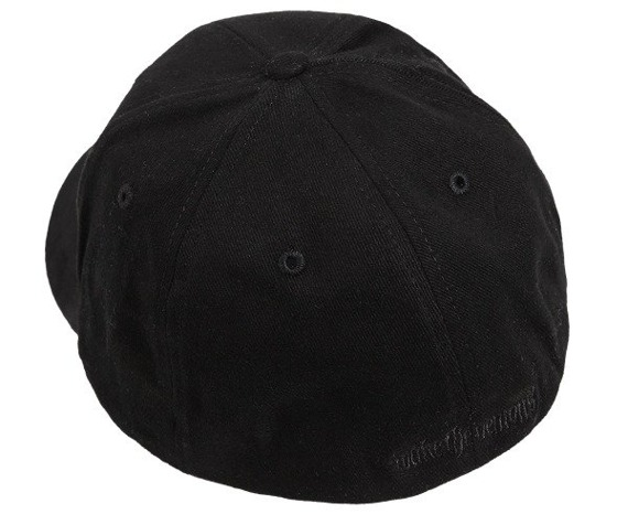 czapka FULL BLOWN CHAOS - Black Fitted Cap