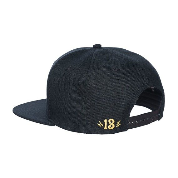 czapka LUCKY 13  - SHOCKER SNAPBACK BLACK/GOLD