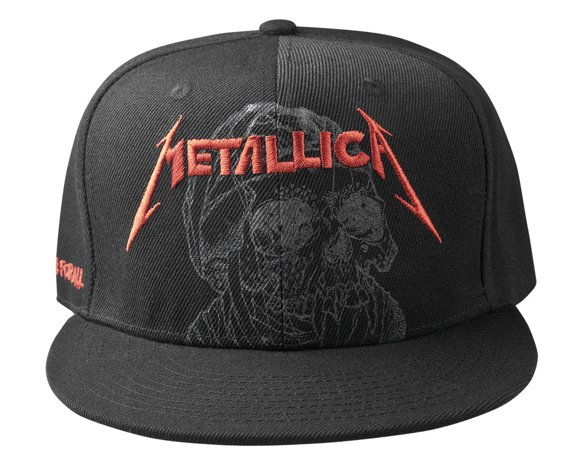 czapka METALLICA - ONE JUSTICE BLACK
