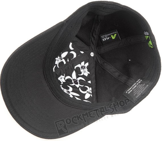 czapka MY CHEMICAL ROMANCE Black/White Flexfit Cap